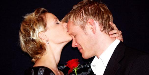 Darf man sich schon beim ersten Date küssen?